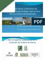 Presentacion Vacios Marino Costeros Julio 2009
