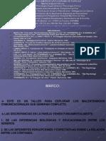 Diagnostico y Tratamiento de Parejas