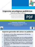 Urgencias oncológicas pediátricas. Septiembre 21 de 2012