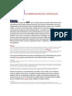 La Fabricacion Del Chocolate
