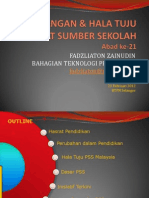 Perancangan & Hala Tuju Pusat Sumber Sekolah
