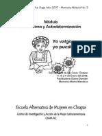 Memoria Modulo 3 Autoestima y Autodeterm 2008