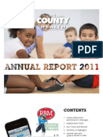 St. Louis County Department of Health Annual Report 2011