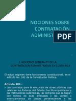 Nociones en Contratación Administrativa