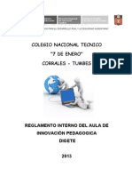 reglamento interno2013