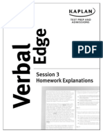 Verbal Edge Hw 3 Explanations