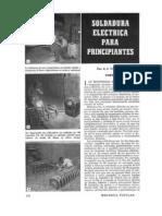 Soldadura Electrica Para Principiantes