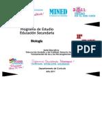 Programa Biología (11º Grado) Última Versión 300610