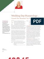 Wedding Day Numerology