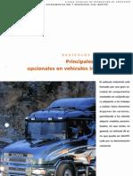 Principales componentes opcionales en vehículos industriales