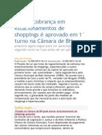 Fim da cobrança em estacionamentos de shoppings é aprovado em 1° turno na Câmara de BH.doc