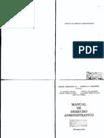 116172496 Manual de Derecho Administrativo de Ismael Ferrando[2]