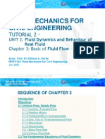 EBVF4103 (Chapter 3) Fluid Mechanics for Civil Engineering