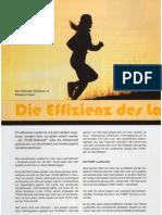 Die Effizienz des Laufens - Die POSE Methode®