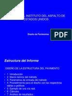métodos de diseño de pavimentos Instituto del Asfalto