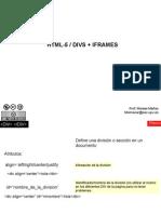Html5 Div Frames
