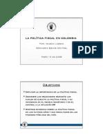 Politica Fiscal Colombia