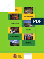 Carpeta de materiales didácticos. Español como lengua materna