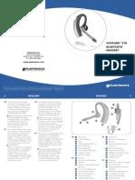 Plantronics Voyager 510 Bluetooth Headset Manual