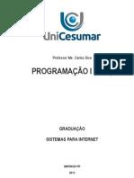 Programação I - PHP