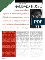Ivan Teixeira Formalismo Russo Revista Cult