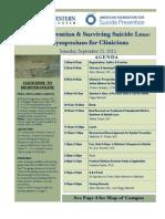 Clinical Symposium Sept 21 at UTSW