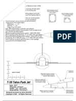T-38 Park Jet Plans (Assembly Drawing)