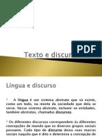 Texto e Discurso