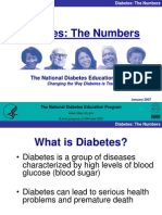 Presentation of Diabetes