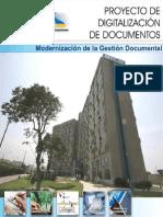 Proyecto de Digitalizacion de Documentos Del Mtc