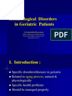 Hematological Disorders in Geriatric Patients