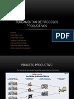 Fundamentos de Procesos Productivos