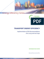 Transport Energy Efficiency