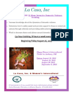 8-16-13 Domestic Violence Training