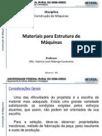Construcoes de Maquinas - 1.3-Materiais Para as Estrutura Das Maquinas