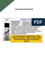 Catalogo Saf-t-lok Electricos Autos