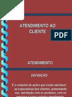 Modelo Atendimento Ao Cliente
