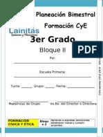 3er Grado - Bloque 2 - Formación CyE