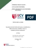 elaboracion de torta de palma Tesis.doc