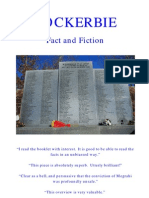Lockerbie, Fact and Fiction