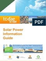 Solar Info Guide 2013
