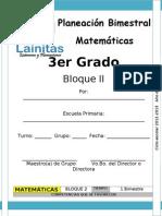3er Grado - Bloque 2 - Matemáticas