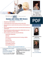 Buying and Selling HUD Homes  with Sue Lechman and Rich Egly - Aug 14, 2013