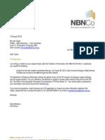 ZDNet NBN Co Final FOI Decision
