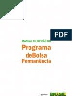 MEC Manual Bolsa Permanencia 2013