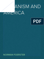 Norman Foerster (ed.). Humanism and America