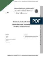INSTRUÇÃO TÉCNICA Nº 09_2004 - Compartimentação Horizontal e Vertical - CBMSP - it09