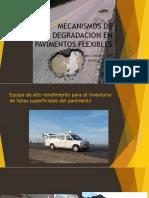 Mecanismos de Degradacion en Pavimentos Flexibles