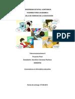 Proyecto Final Telecomunicaciones II