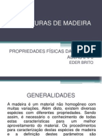 Estruturas de Madeira - Aulas 2 e 3